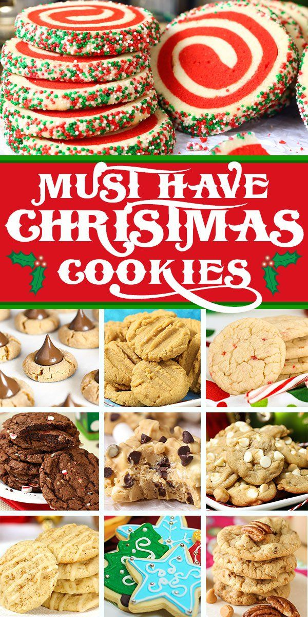 25 Must Have Christmas Cookies Cookies Cookies Cookies