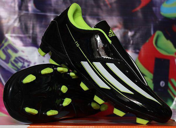 Sepatu Bola Adidas F10 Hitam Strip Putih Rp 150 000 Pin Bb