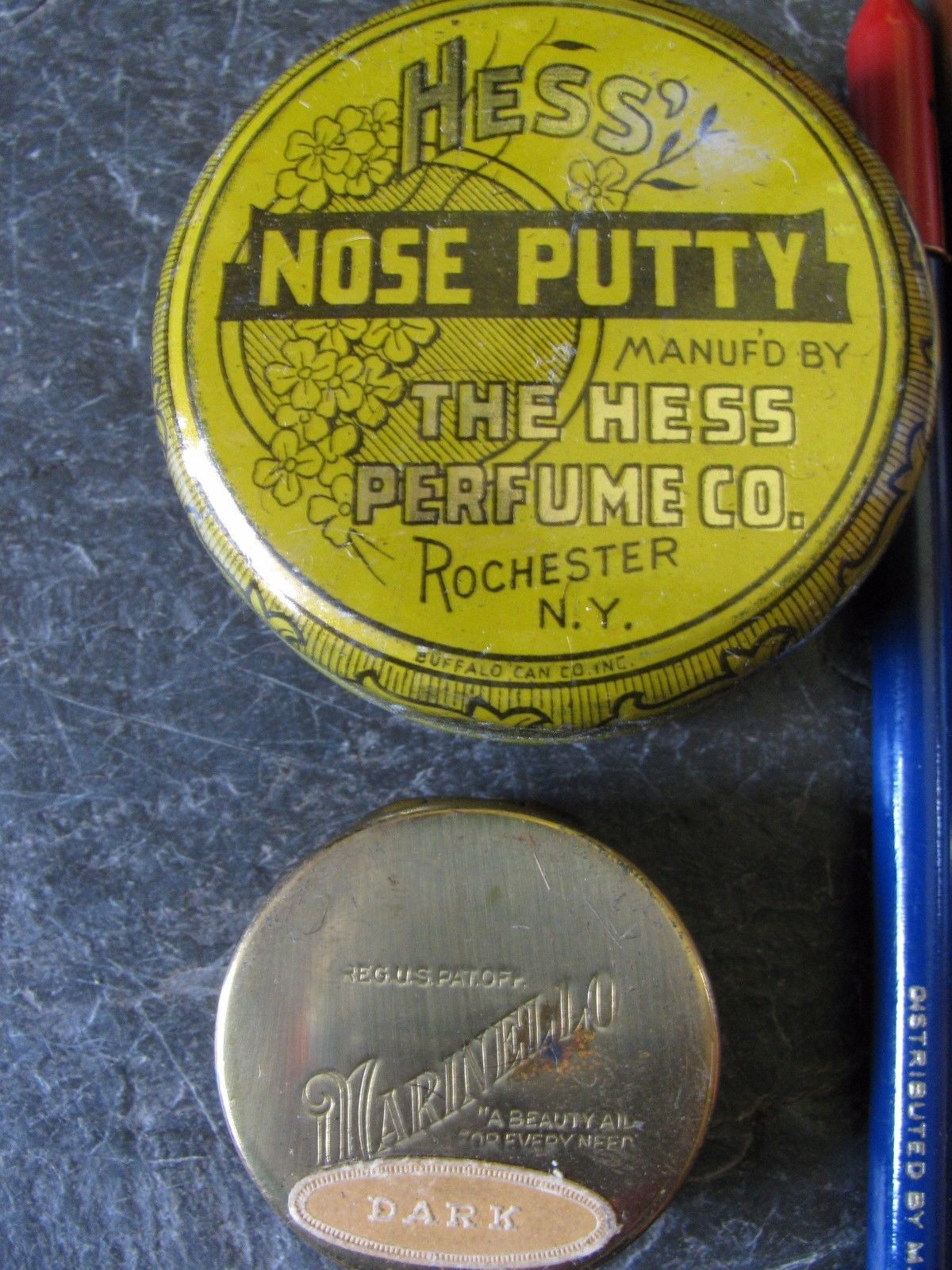 Vintage Theater Makeup Kit with Denison's Make Up Guide