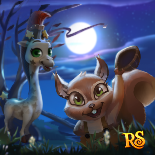 Meet the Squirrel and the Giraffe in the New Special Quest! Play NOW!  http://t.funplus.com/trenfpf  Our two new friends are the Playful Squirrel and the Mahican Giraffe!  Halloween is approaching soon. The Squirrel has come up with an idea to play a prank on the Giraffe. Will he succeed? What will happen next? Play the New Special Quest to find out the answer!  Click like & share to meet the Squirrel and the Giraffe NOW! #RoyalStoryTwitter