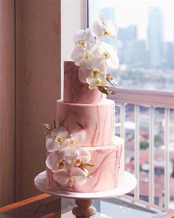 33 Marmorhochzeitstorten zum Mitreißen   – Wedding Cakes