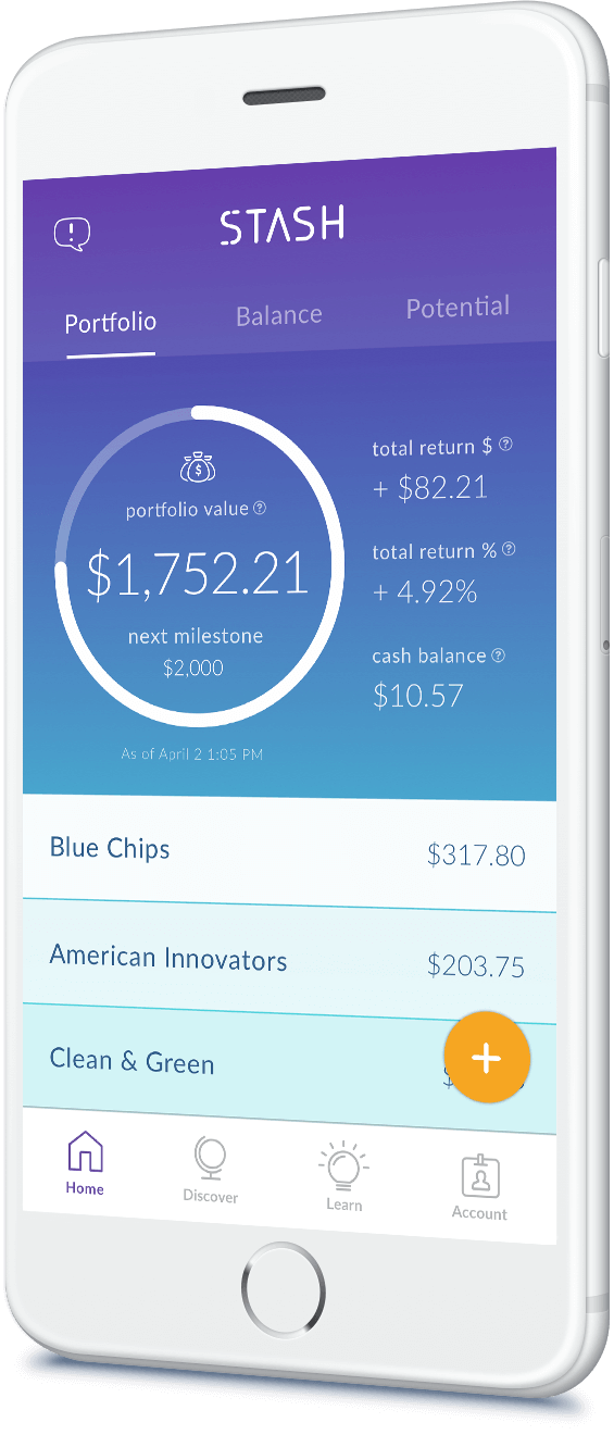Invest, Save, and Learn with the Stash Investment App