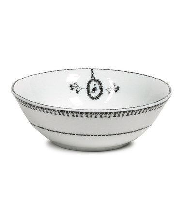 Take a look at this White Chain 5'' Fruit Bowl by Miss Blackbirdy on #zulily today! $9 !!