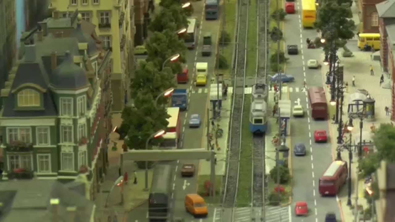 Modellbahn Strassenbahn Spur N des Fürther Eisenbahnclub