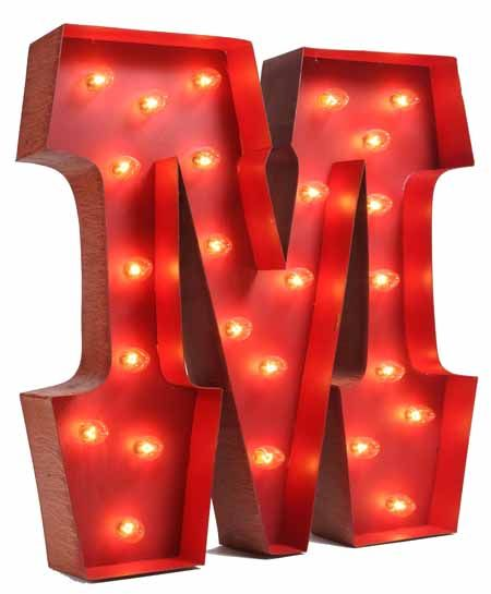 Great Lighted Carnival Letter M Pictures Gallery