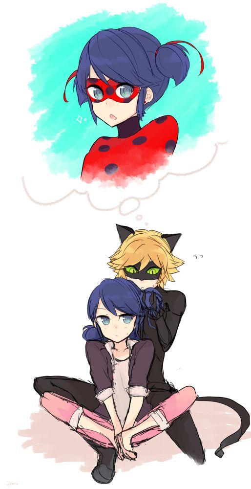 Marichat Ladybug And Cat Noir Anime Figuren Minaculous