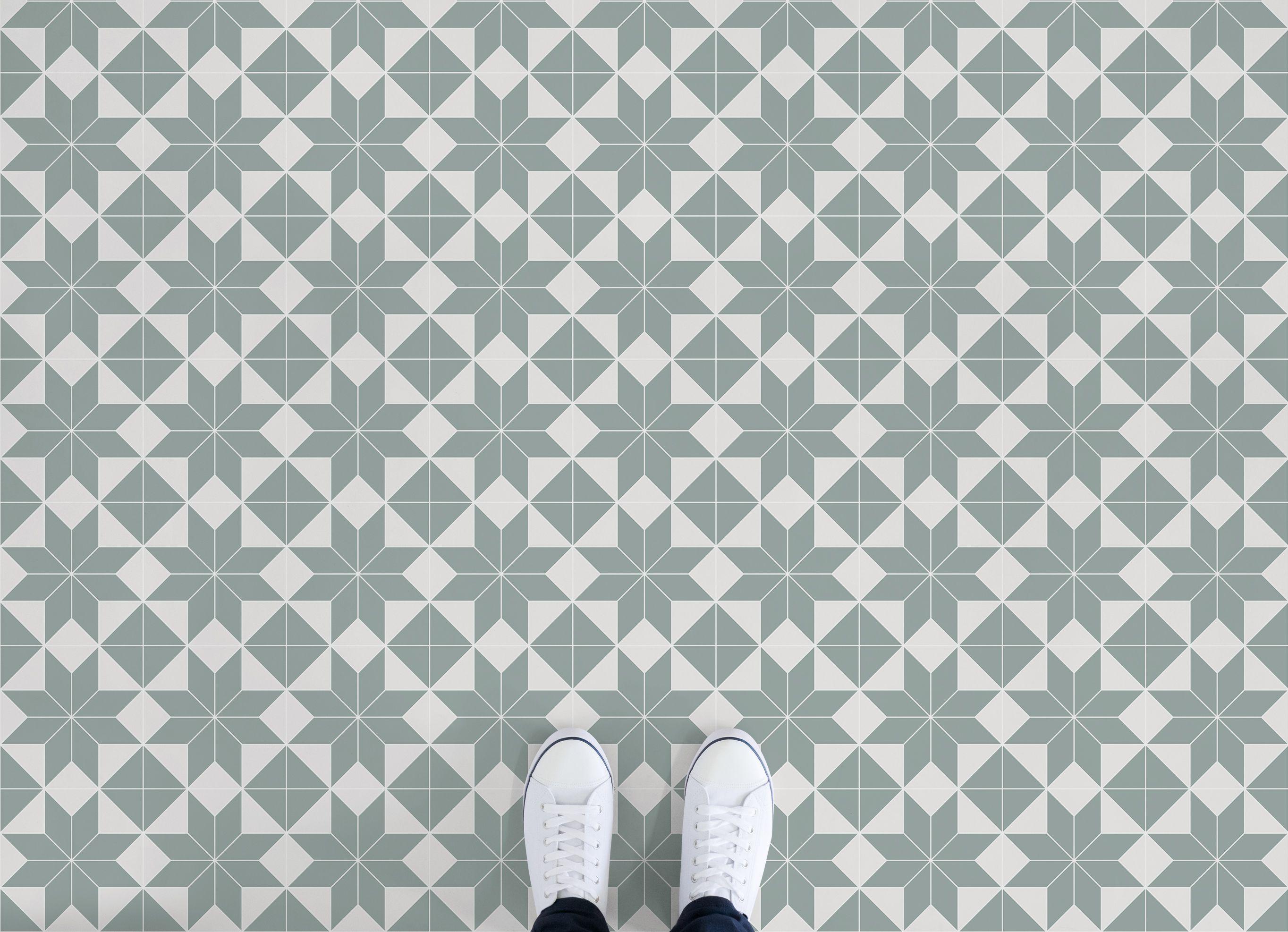 Victorian Tile Effect Vinyl Flooring | Pinterest ...