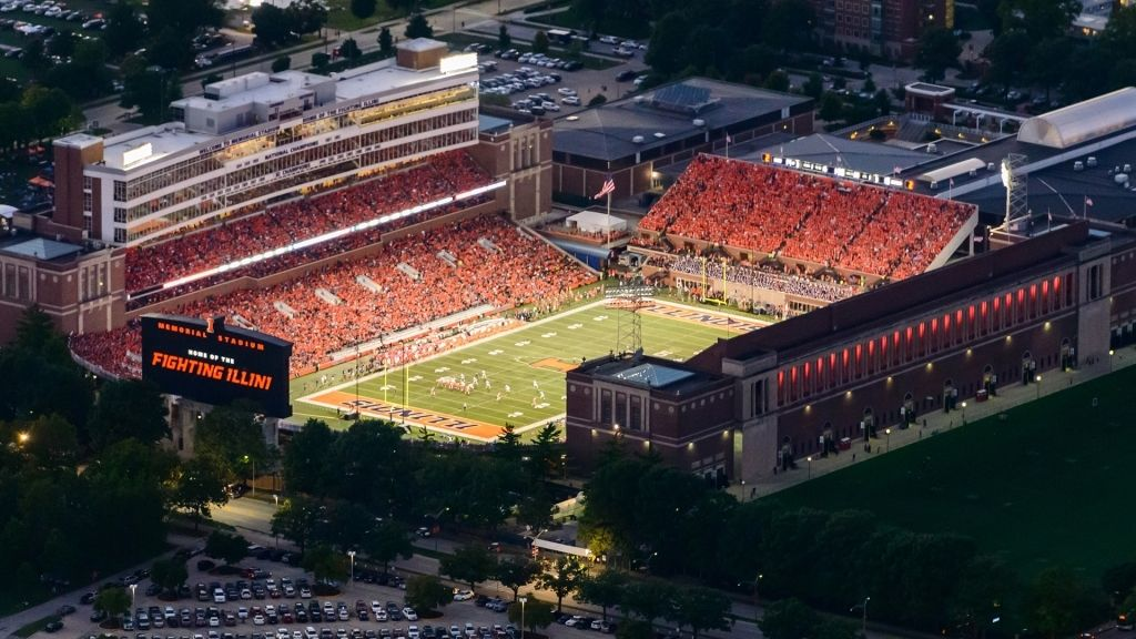 The Most Awesome And Interesting Memorial Stadium Illinois Seating Chart