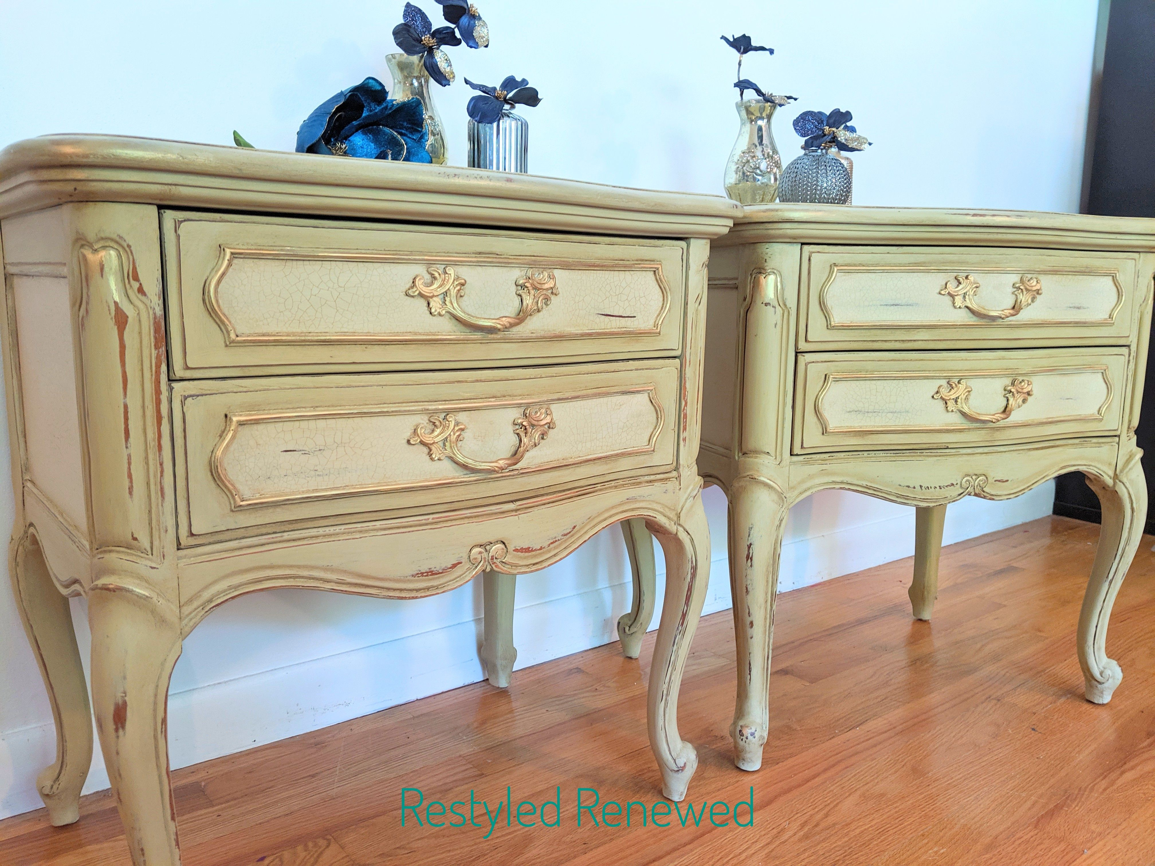 French Country Nightstands In 2020 Furniture Custom Furniture Vintage Furniture
