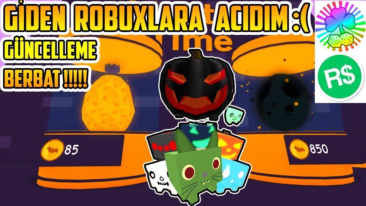 Yeni Petler Efsane Mi Roblox Pet Simulator Halloween Update 8 Turk Halloween Turkce Oyun