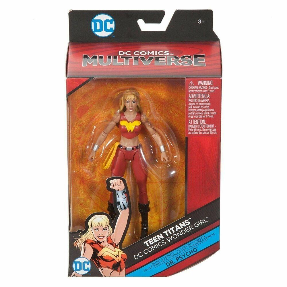 "6/"" Multiverse Action Figures Teen Titans Wonder Girl Figure"