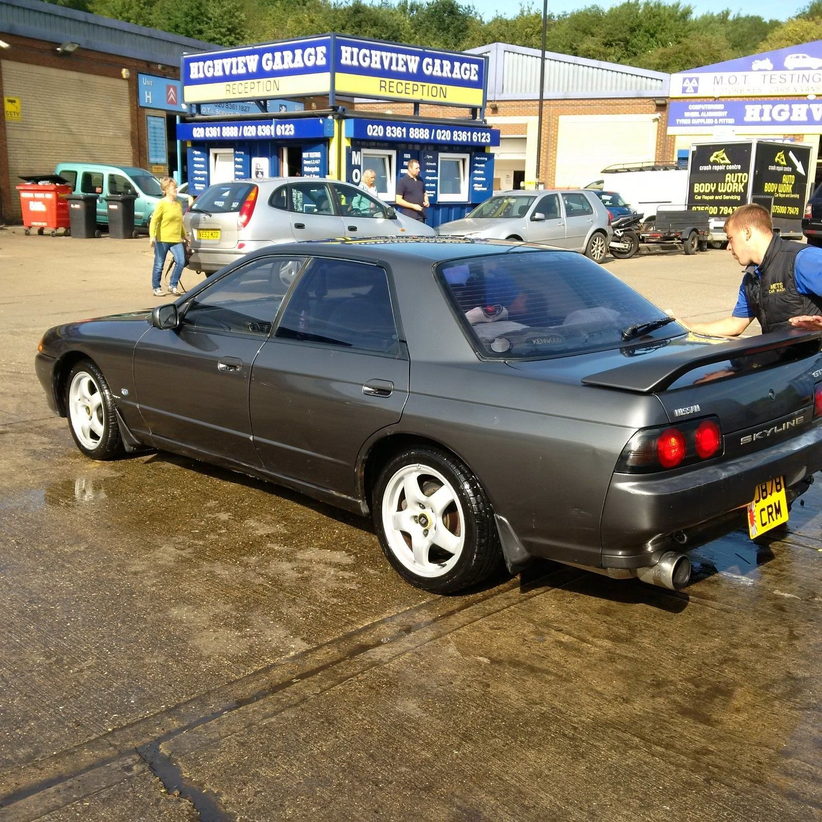 Looking For A Nissan Skyline R32 4 Door Turbo Gts Awd Attesa Aws Hicas All Stock Oem This One Is On Ebay