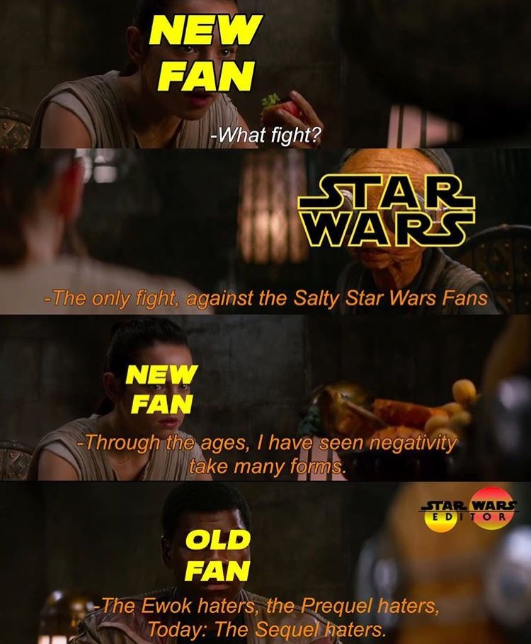 Yeah The Circle Of Hates The Haters Is The Real Dark Side Of Star Wars Starwars Star Wars Quotes Star Wars Facts Funny Star Wars Memes