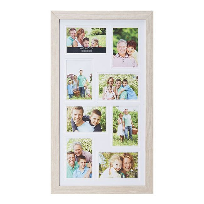 Melannco 15x25-inch 8 Opening Picture Frame by Melannco | Pictures ...