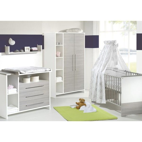 Schardt Eco Silver Nursery Furniture Set Cot + Changing Table ...