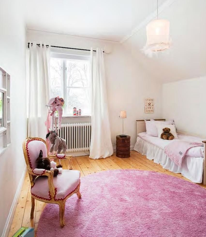 glamorous girls room, styled by Mig Design, Stockholm