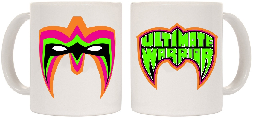 Ultimate Warrior Parts Unknown Mug Ultimate Warrior Warrior Warrior Logo