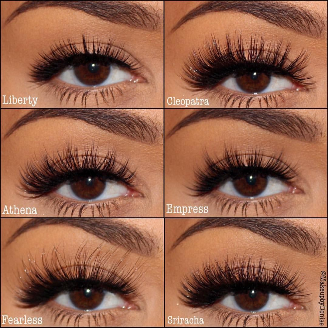 Eyerís Beauty False Eye Lashes Liberty, Cleopatra, Athena