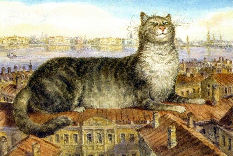Петербургские коты картинки, тенденции открытки 2019