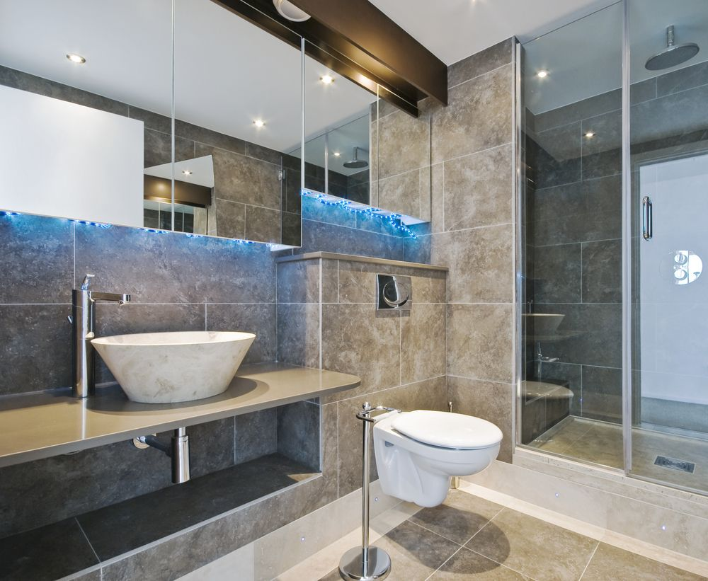 Luxury bathroom design toilet picture take me away spa for Great looking bathrooms