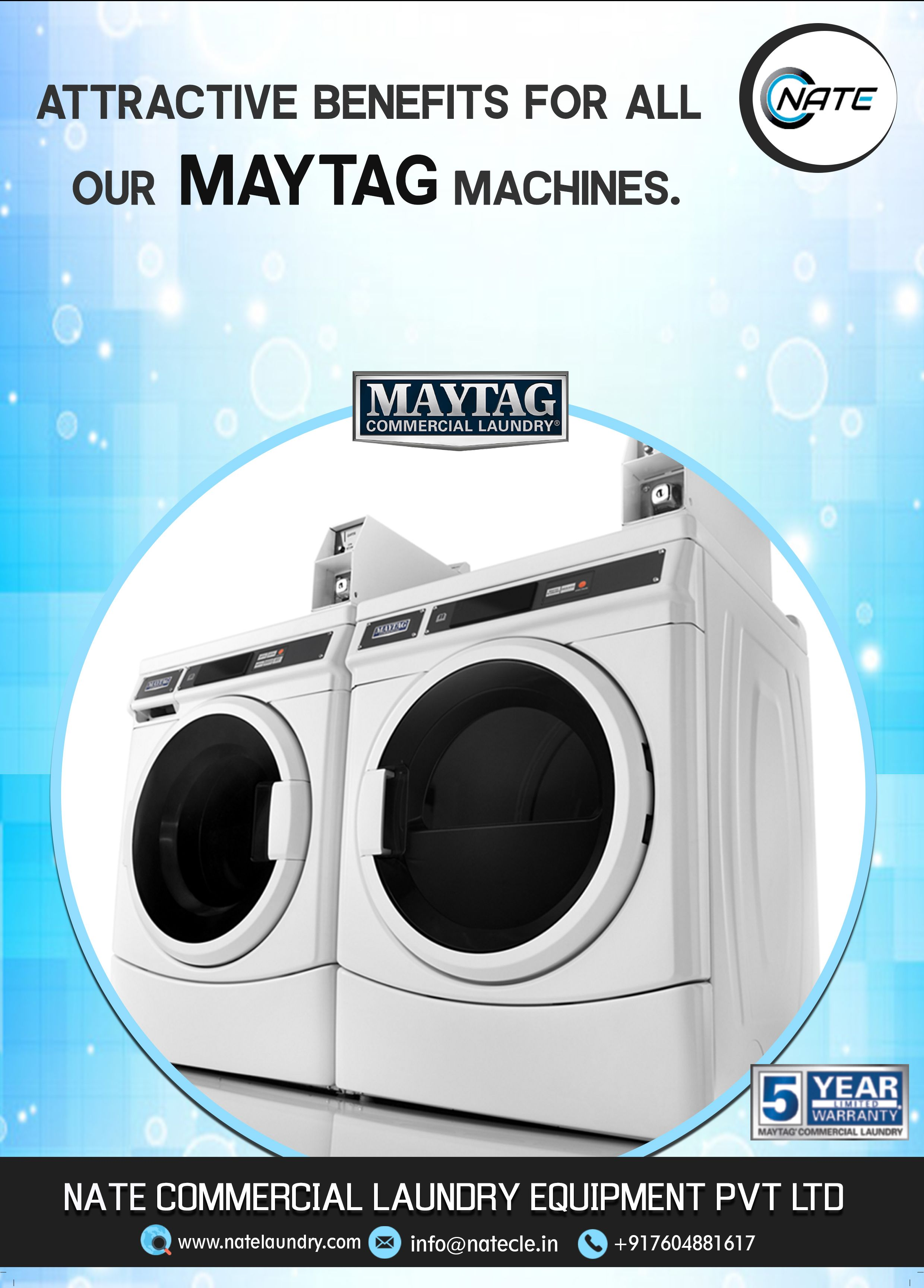 Nate Commercial Laundry Equipment Distributor Call Us 91