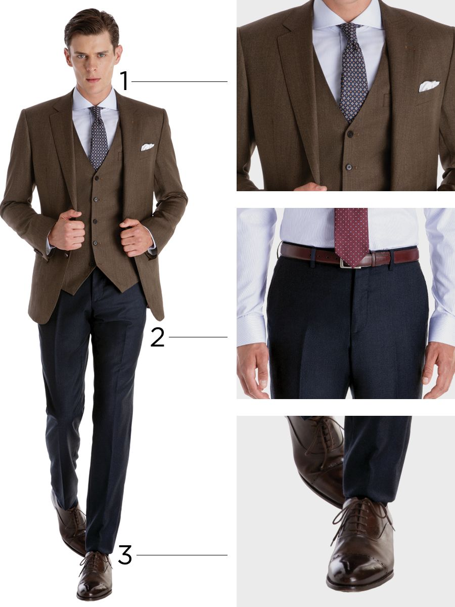 Brown jacket image by Donald Scrimger on Mens Fashion