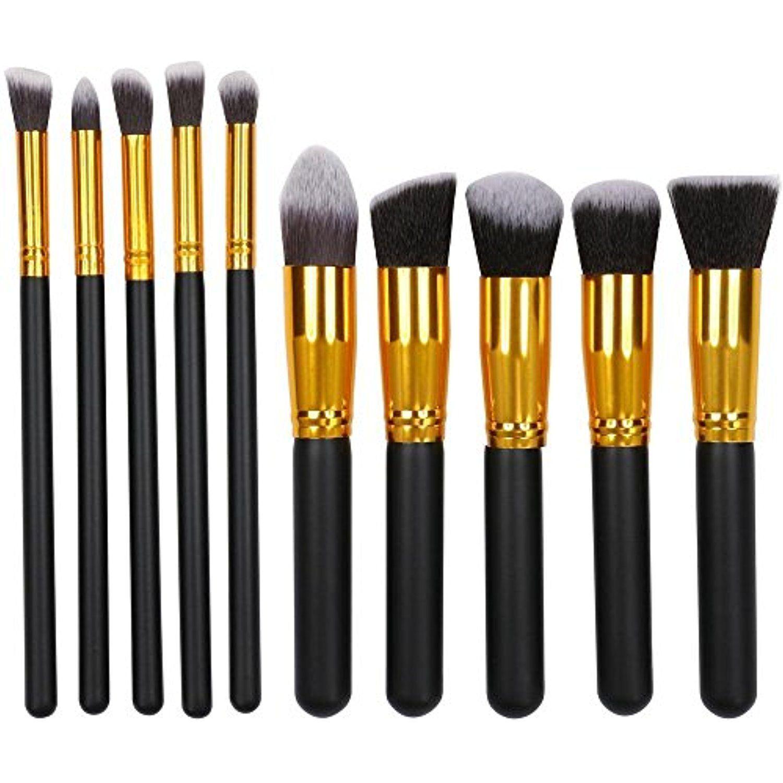 Topeakmart Makeup Brushes Set Foundation Blending Blush