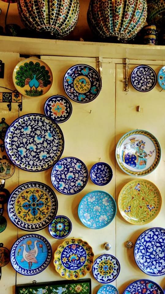 They Have A Wide Variety Of Articles In Bluepottery Address Jaipur Blue Pottery Marble Art Centre Blue Pottery Jaipur Blue Pottery Designs Blue Pottery