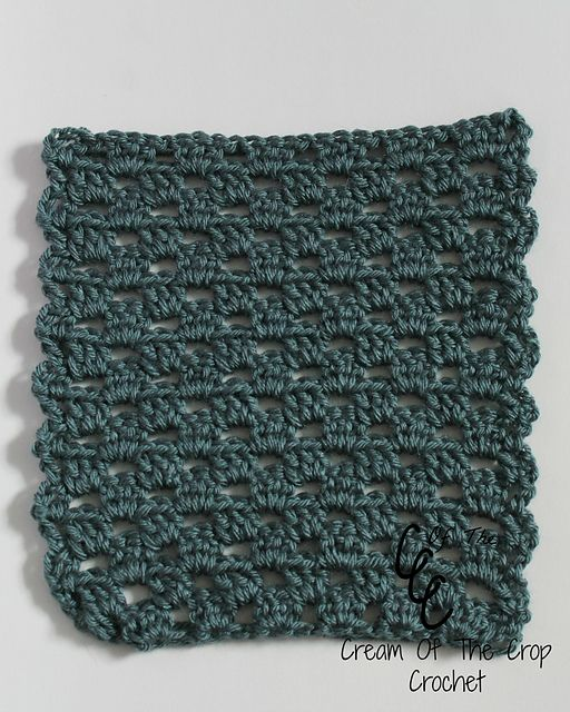 Ravelry: Granny Stitch Square pattern by Cream Of The Crop Crochet