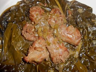 Collard greens and turkey neck bones with pot liquor soul food collard greens and turkey neck bones with pot liquor soul food shawnas food forumfinder Image collections