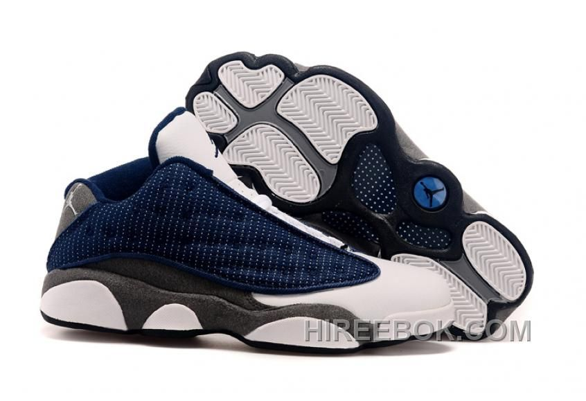 finest selection 24f81 018d9 ... order find air jordans 13 low french blue university blue flint grey  for fall online or