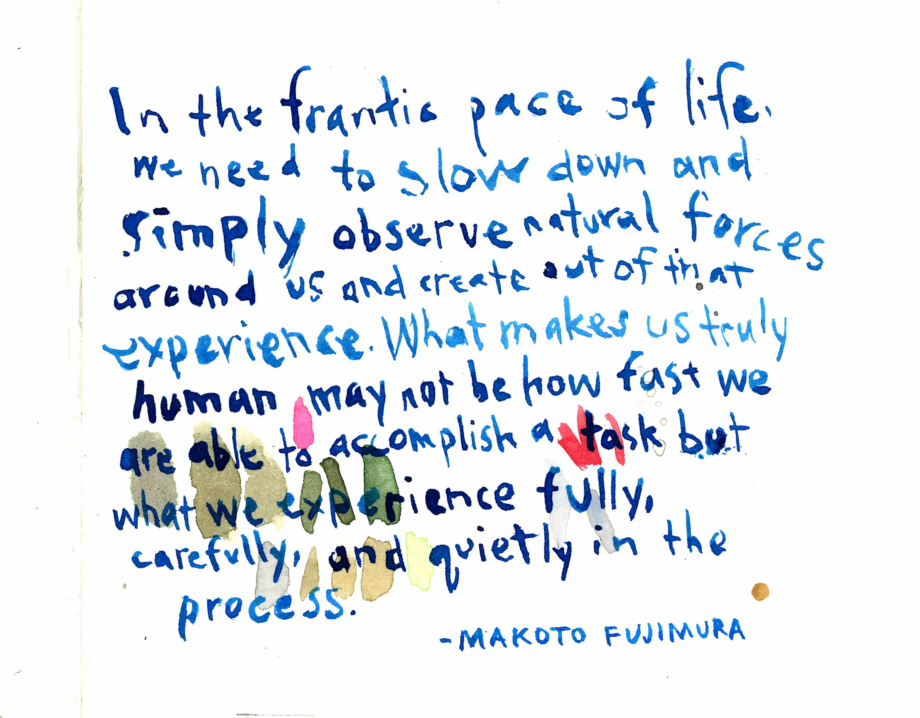 Makoto Fujimura | Cool words, Words, Thoughts