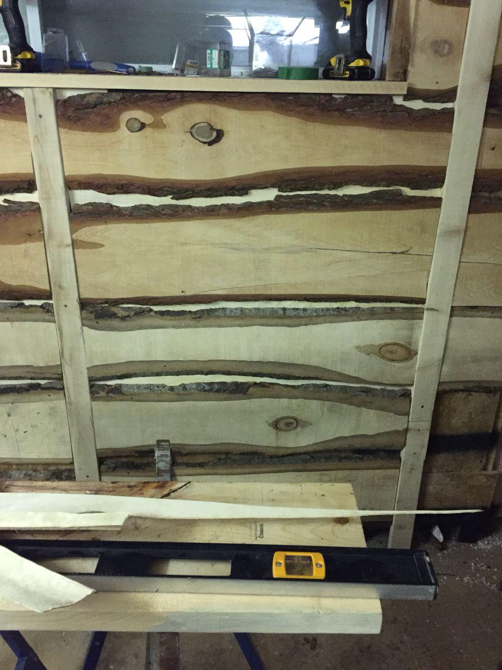 Mur Cave A Vin mur de ma cave à vin planche de pruche | projet cave à vin | pinterest