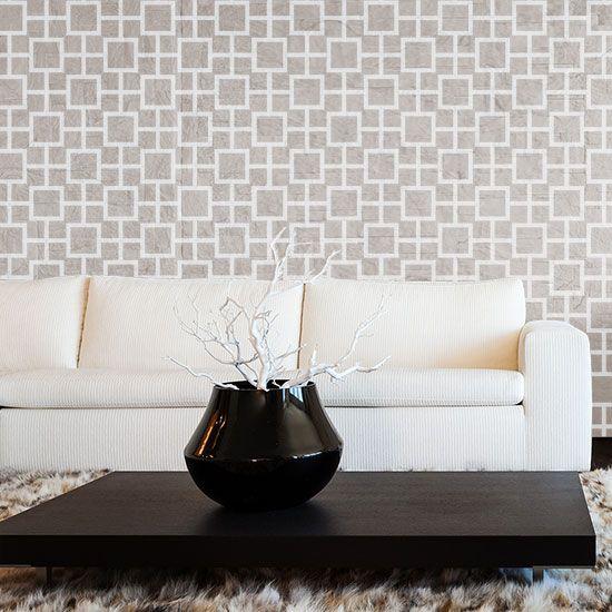 Beverly Glen Wall Stencil Stencils Wall Stenciled Floor Large