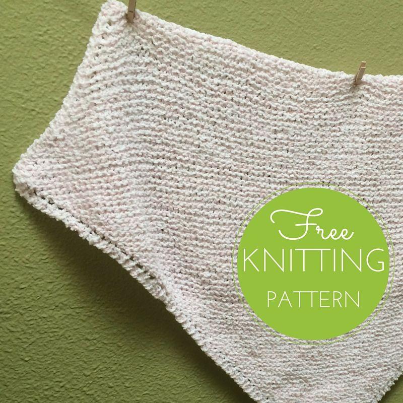 Cupcake Baby Blanket Free Knitting Pattern | Bebe