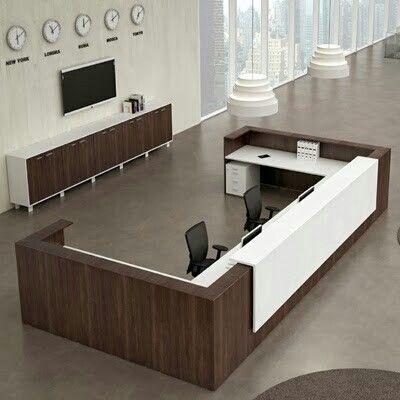 Recepci n moderna muebles pinterest recepciones for Recepcion oficina moderna