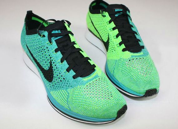 Nike Flyknit Racer - Turquoise/Lucid Green | Sole Collector
