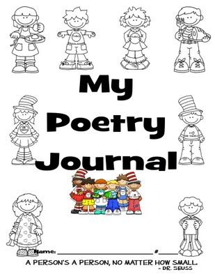I'M FINISHED!! 2ND GRADE POETRY JOURNAL (TREASURES) IS