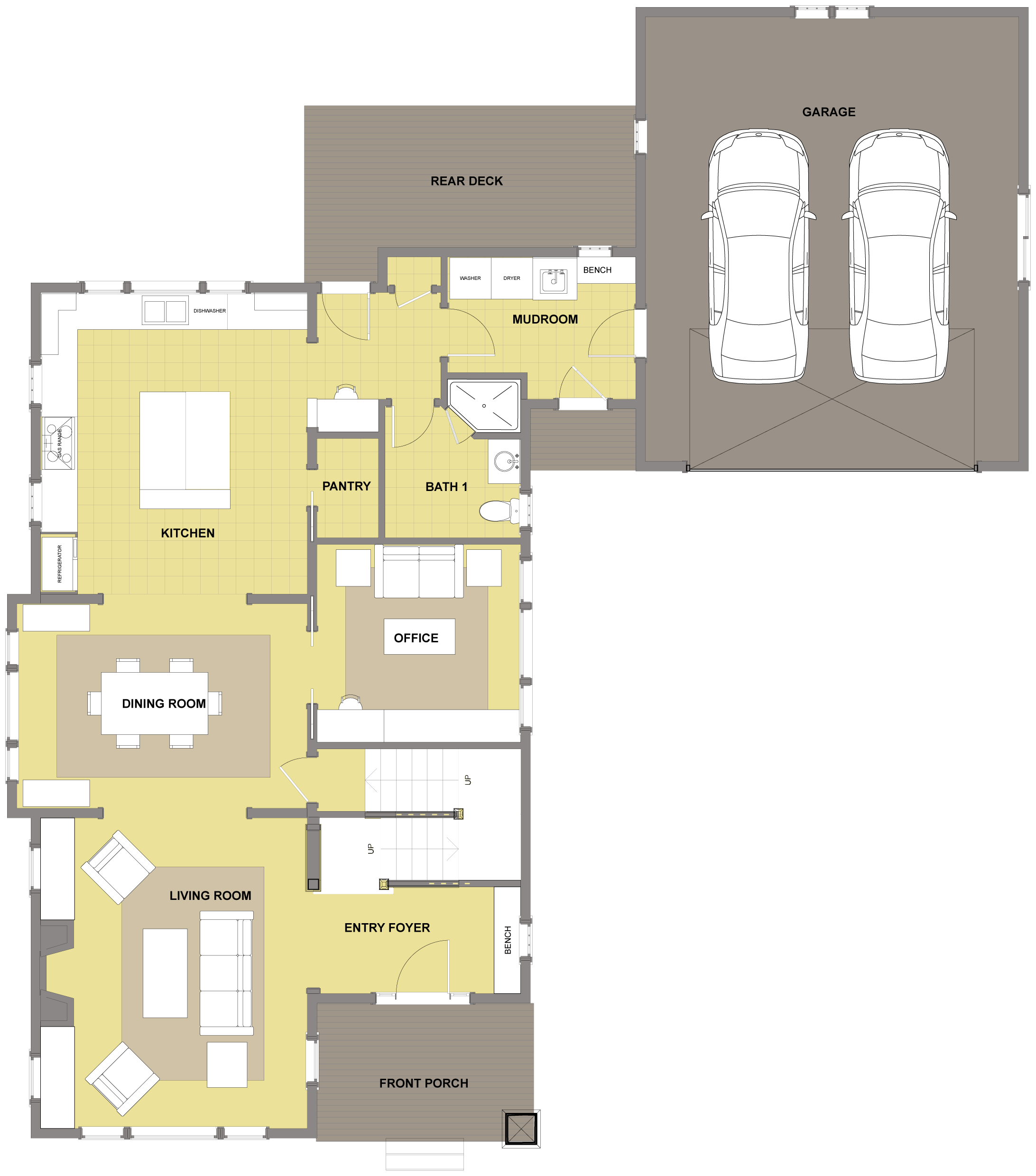 Kitsap First Floor - Floor Plan Dream Home Pinterest ... size: 2184 x 2479 post ID: 1 File size: 0 B