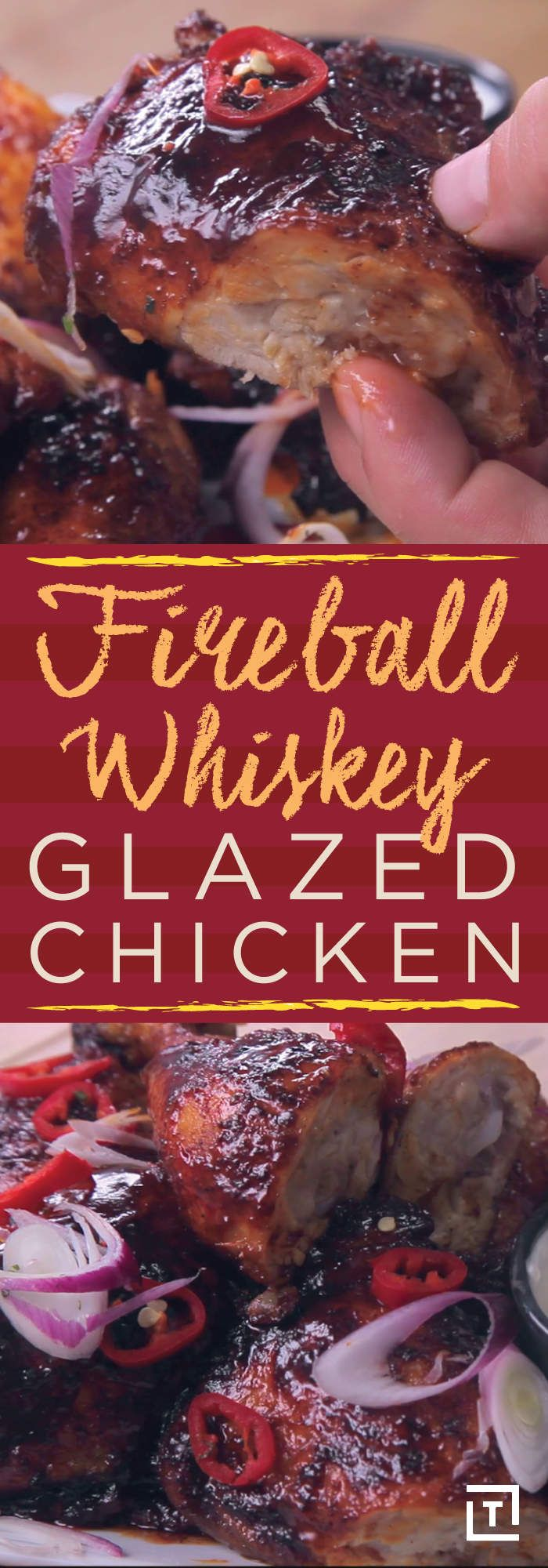 Photo of Step Up Your Glaze Game With This Fireball Whiskey-Obsessed Chicken