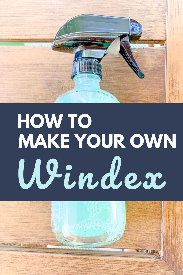 DIY Glass Cleaner How To Make Your Own Windex Glass