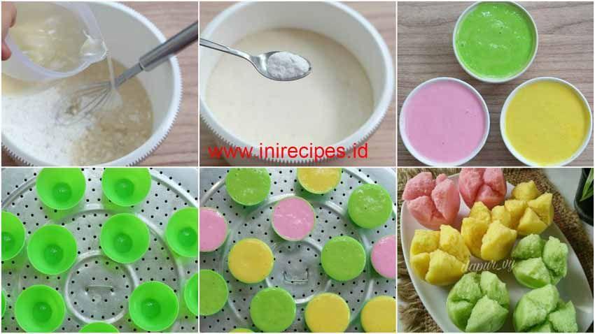 Resep Membuat Kue Mangkok Mekar Apem Tepung Beras Kue Mangkok Resep Kue Mangkok Resep