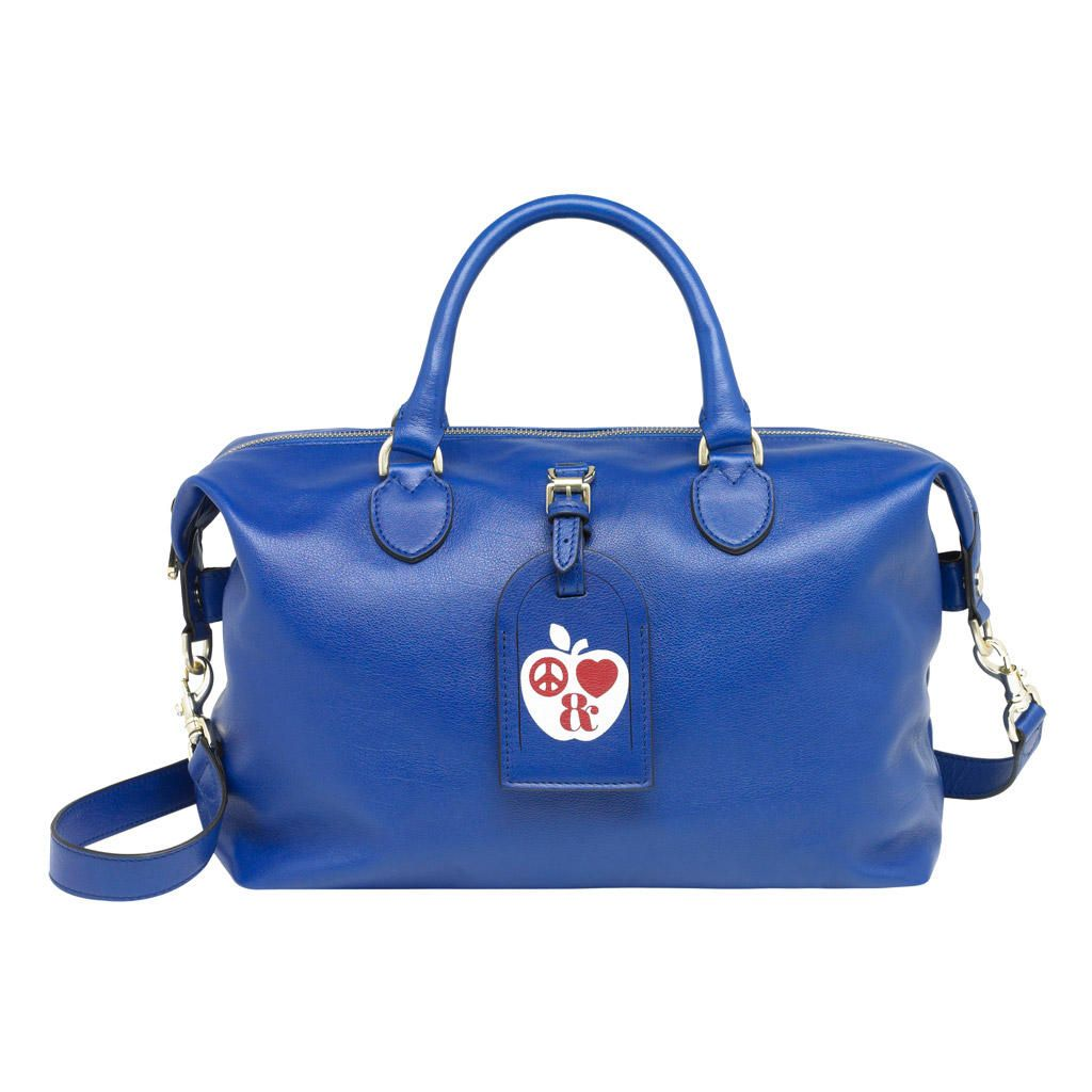 6d7398452ee0 Mulberry New York Clipper Blue Glossy Buffalo