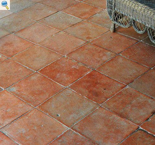 Au Temps Jadis Vous Propose Ses Carrelages Anciens En Terre Cuite Terrace Tiles Painting Tile Tile Floor
