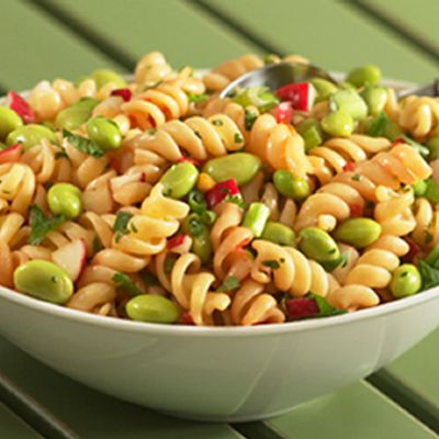 Sesame Soy Edamame And Pasta Salad Recipe Pasta Salad Pasta