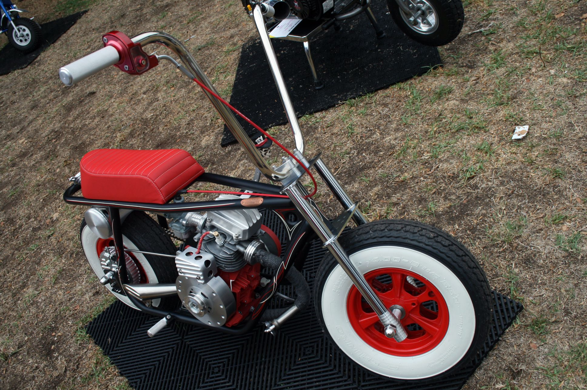 Custom Vintage Mini Bike Mini Motorbike Mini Bike Custom Mini Bike