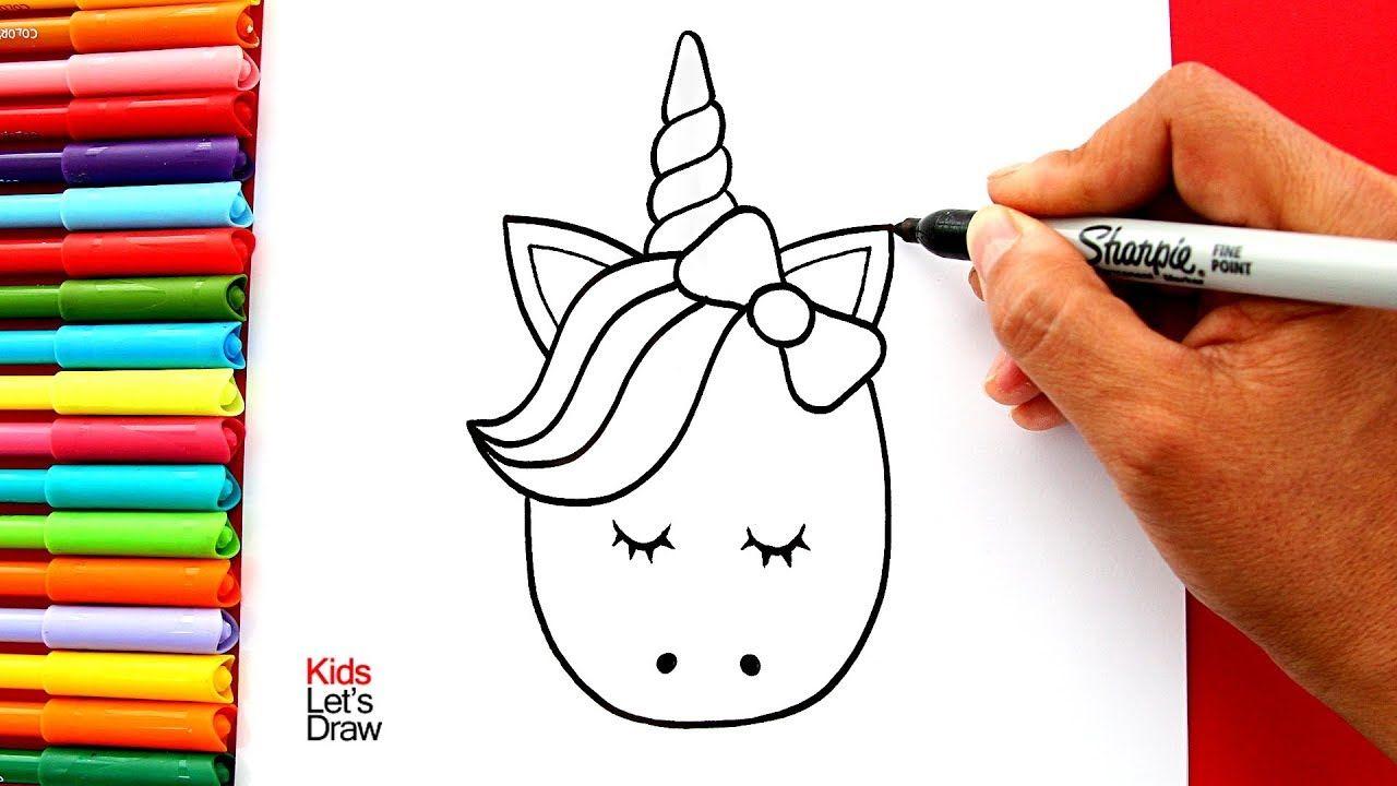 Aprende A Dibujar Un Unicornio Kawaii Fácil How To Draw A Cute Unicorn Como Dibujar Un Unicornio Como Dibujar Un Buho Aprender A Dibujar