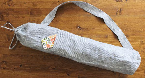 c11aa7c472 DIY Yoga Mat Bag (with step-by-step instructions!) (Sewaholic ...