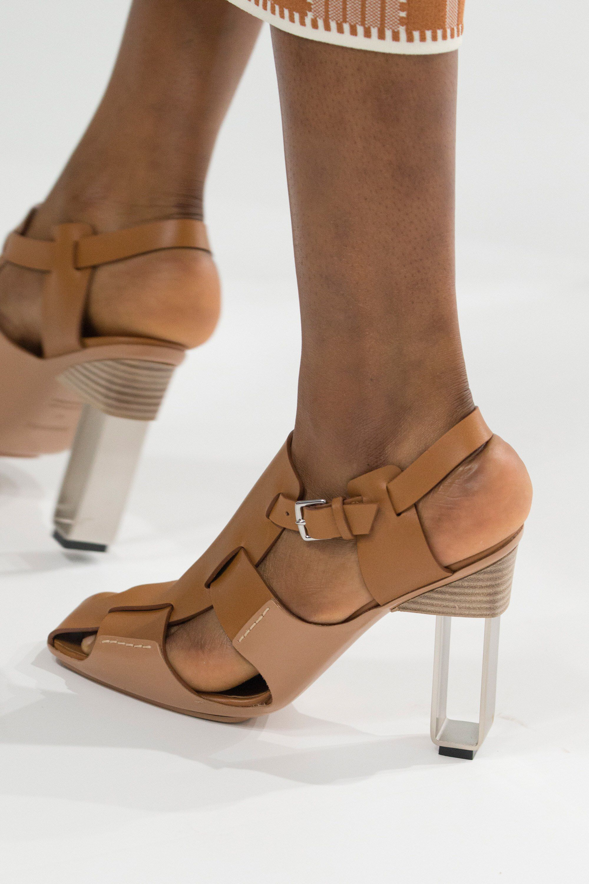 f15ee86073 Hermès Spring 2018 Ready-to-Wear Fashion Show | / SHOES ...