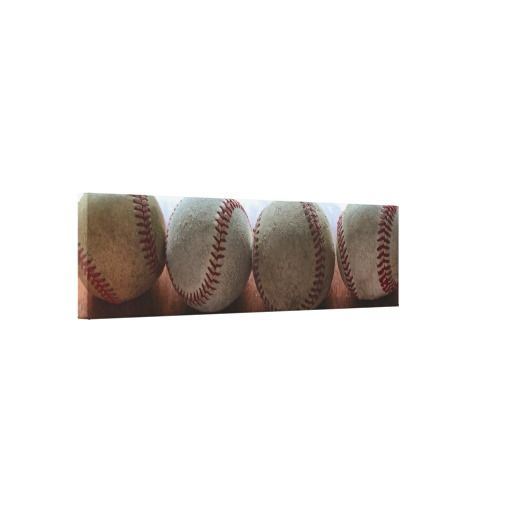 """Ball Four"" iPhoneography Panorama Photo Canvas Prints"